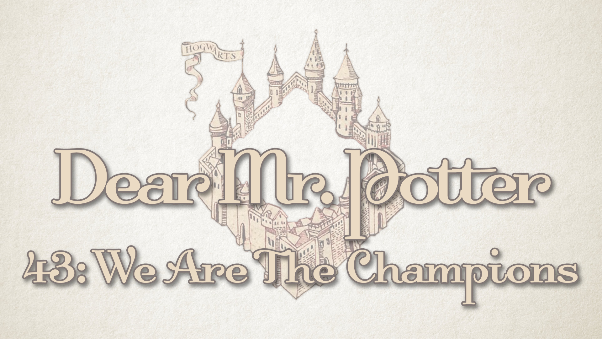 Dear Mr Potter 43 We Are The Champions Point North Media 26951 views | 17275 downloads. point north media