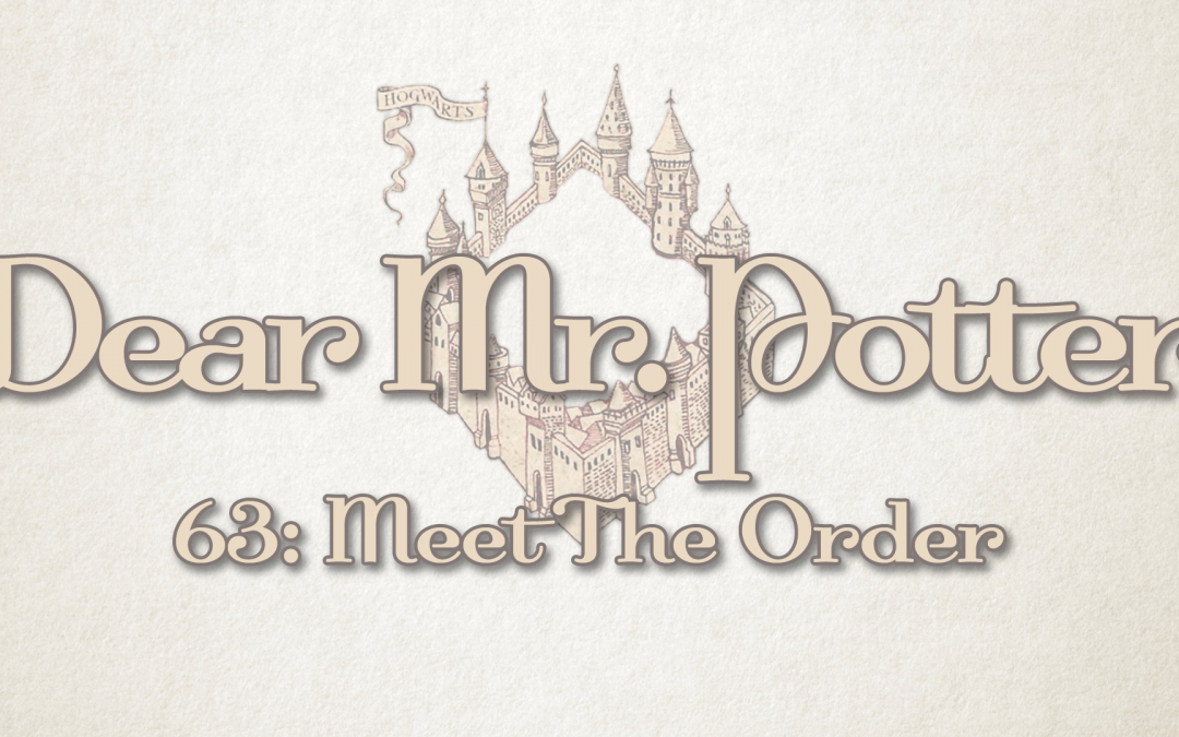 Dear Mr. Potter 63: Meet The Order